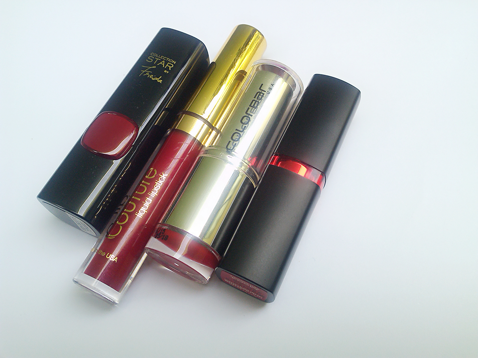 RED OBSESSION: MY FIRST RED LIPSTICKS COLLECTION JOINING MY VANITY FAMILY (2/6)