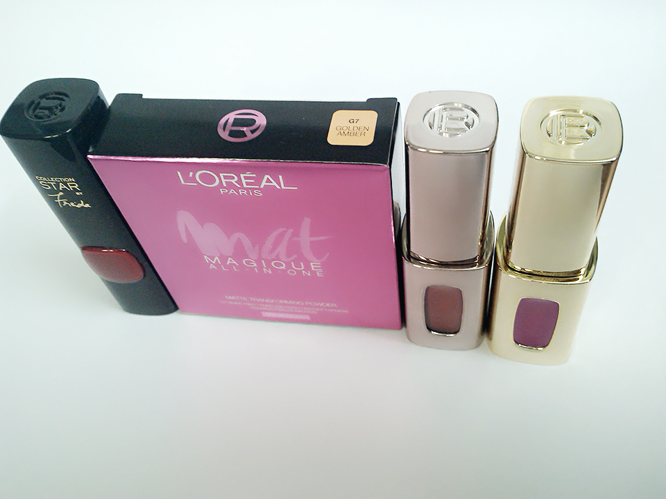 MY LITTLE RECENT LOREAL BUYS (3/6)