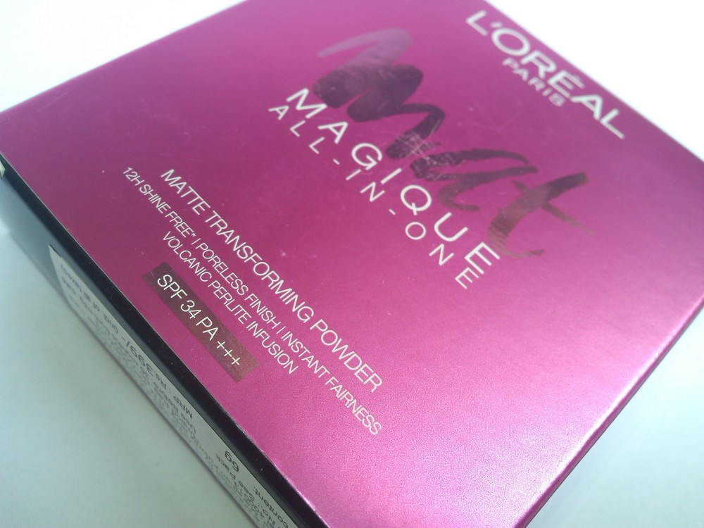 LOREAL PARIS MAT MAGIQUE MATTE TRANSFORMING POWDER- G7 GOLDEN AMBER |Review and Swatches (2/6)