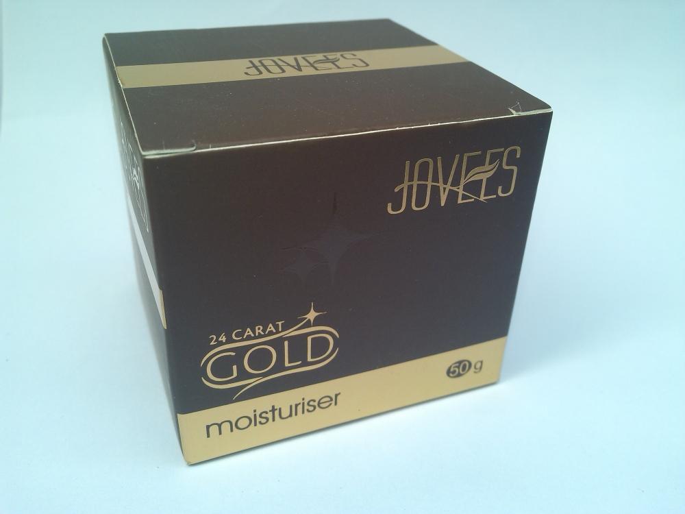 JOVEES 24 CARAT GOLD MOISTURIZER |REVIEW (2/6)