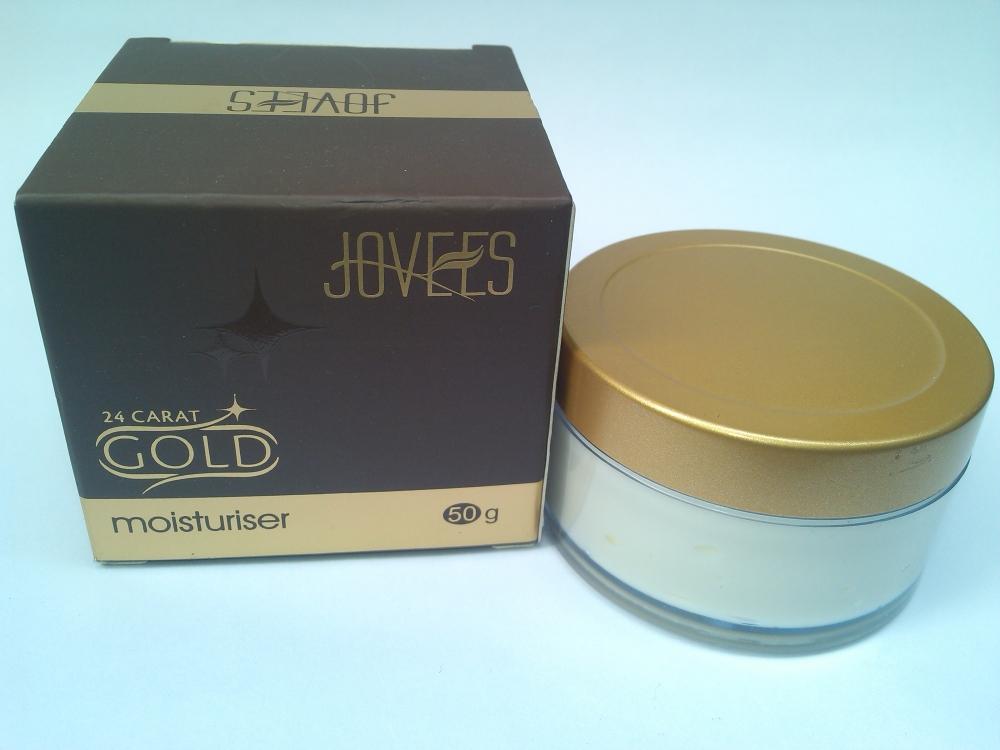 JOVEES 24 CARAT GOLD MOISTURIZER |REVIEW (5/6)