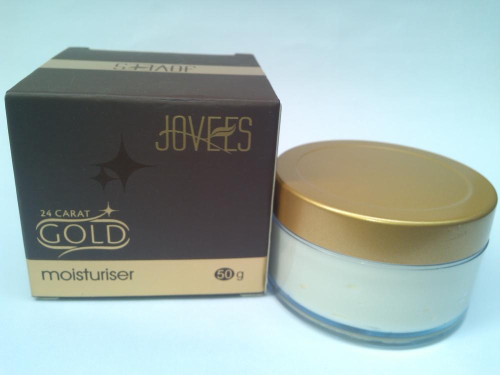 JOVEES 24 CARAT GOLD MOISTURIZER |REVIEW (1/6)