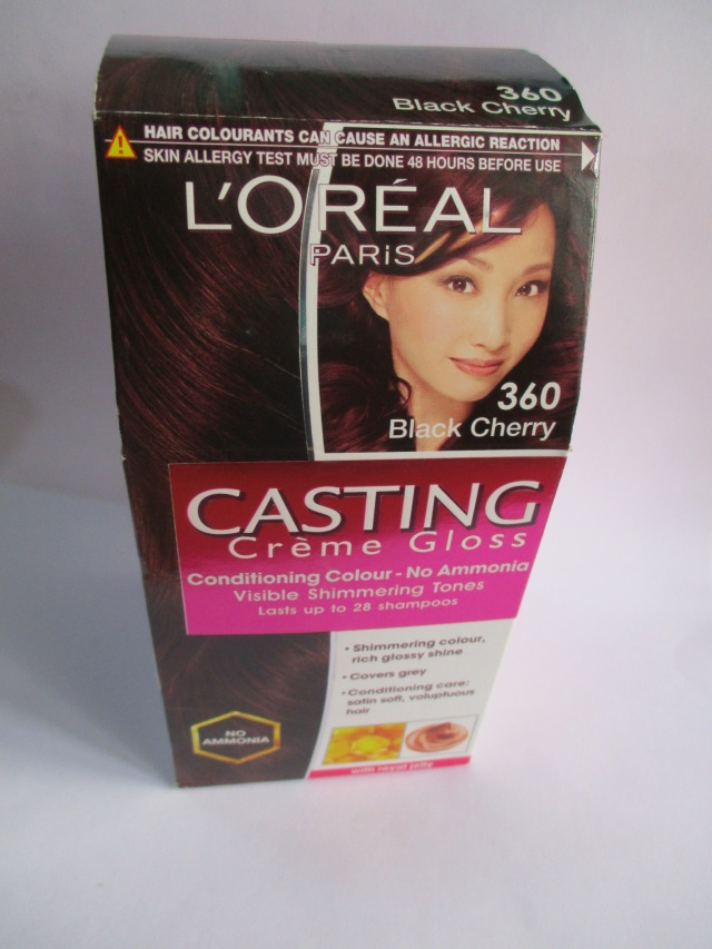 Loreal Casting Creme Gloss Conditioning Hair Colour 360 Black Cherry