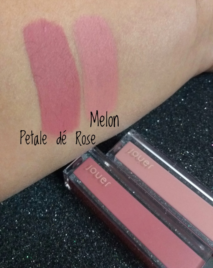 jouer lip creme liquid lipstick swatches