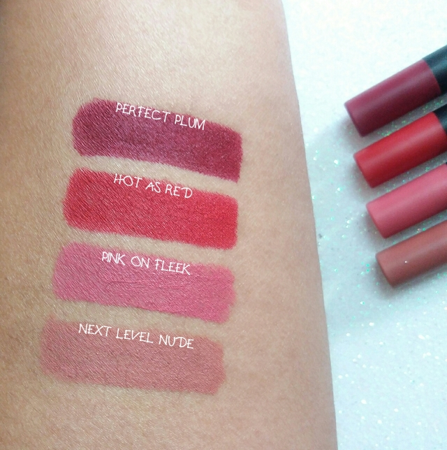 nykaa matteilicious lip crayons review swatches