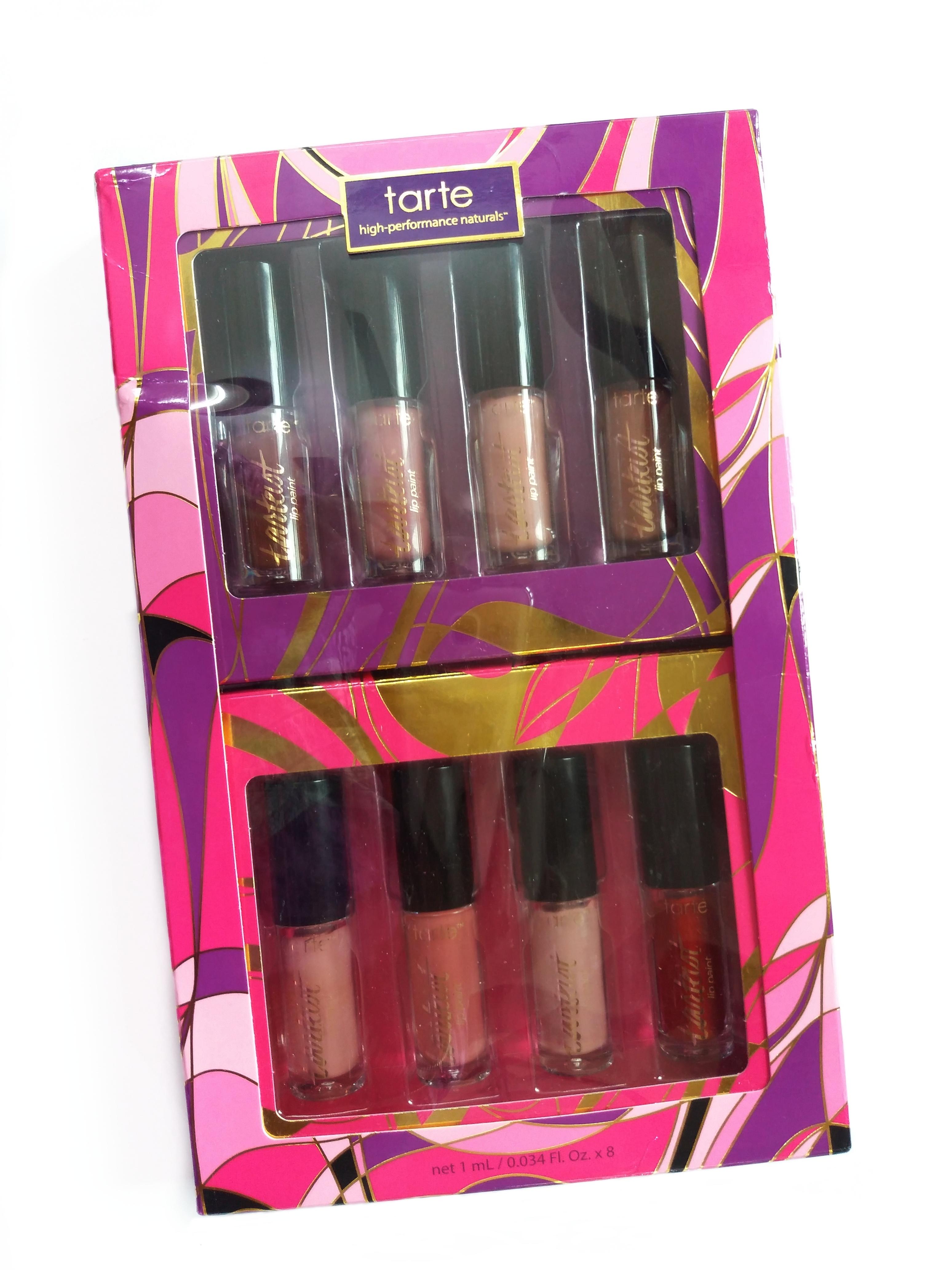 Tarte Limitless Lippies Deluxe Tarteist Creamy Matte Lip Paint Set