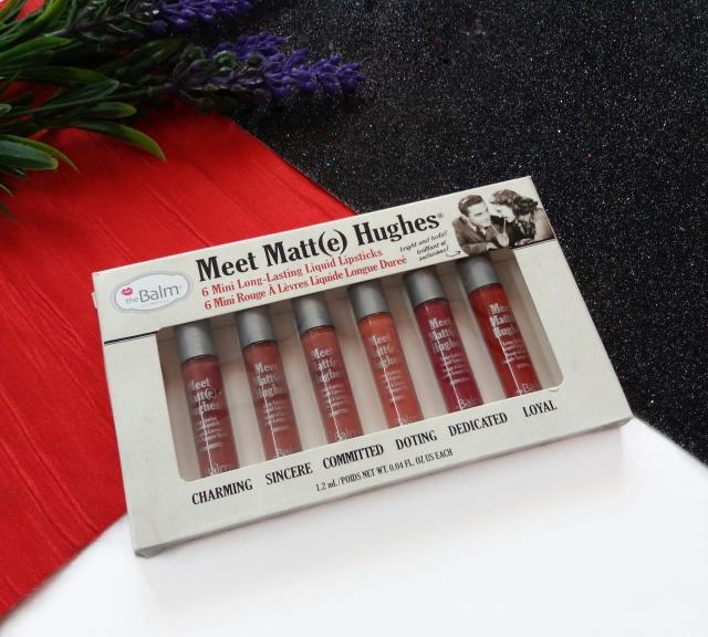 thebalm meet matte hughes mini liquid lipsticks review