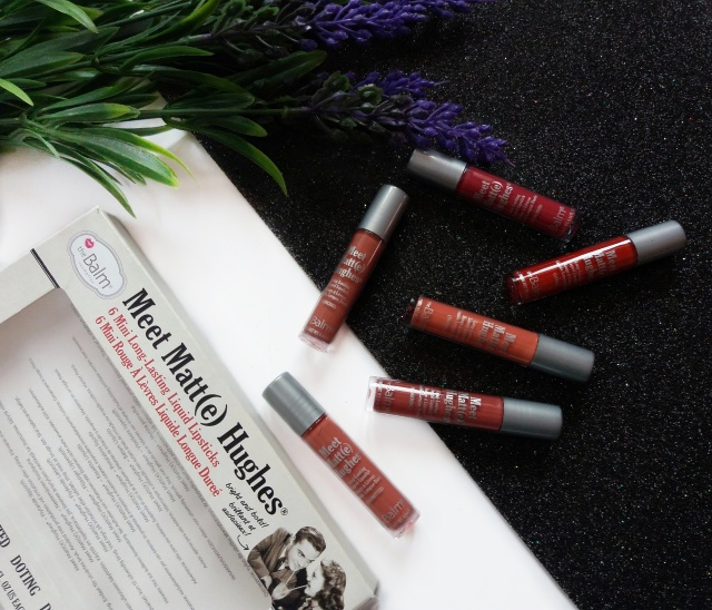 thebalm meet matte hughes mini liquid lipsticks review