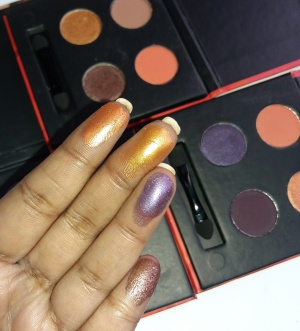 Sugar Blend The Rules Eyeshadow Quads review swatches