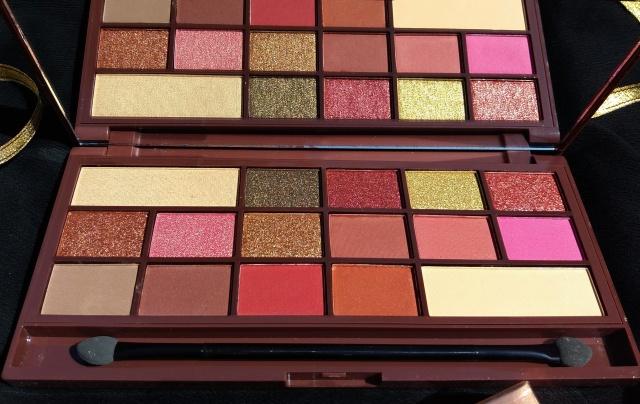 I Heart Makeup I Heart Chocolate RoseGold palette1