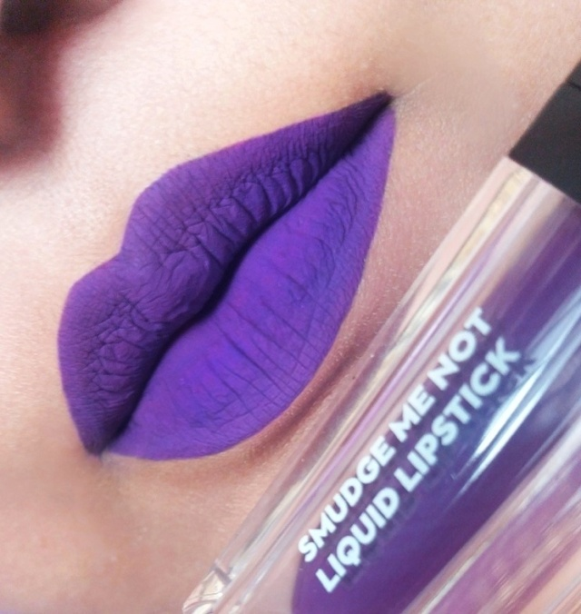 SUGAR SMUDGE ME NOT LIQUID LIPSTICKS 8-01