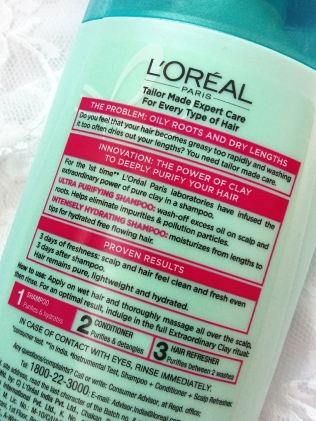 L'OREAL PARIS EXTRAORDINARY CLAY PURIFYING & HYDRATING COLLECTION