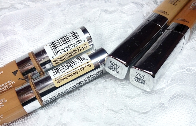 Loreal True Match concealers2