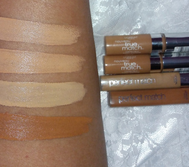 Loreal True Match concealers3