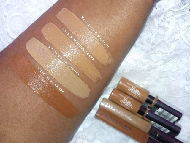 Loreal True Match concealers4