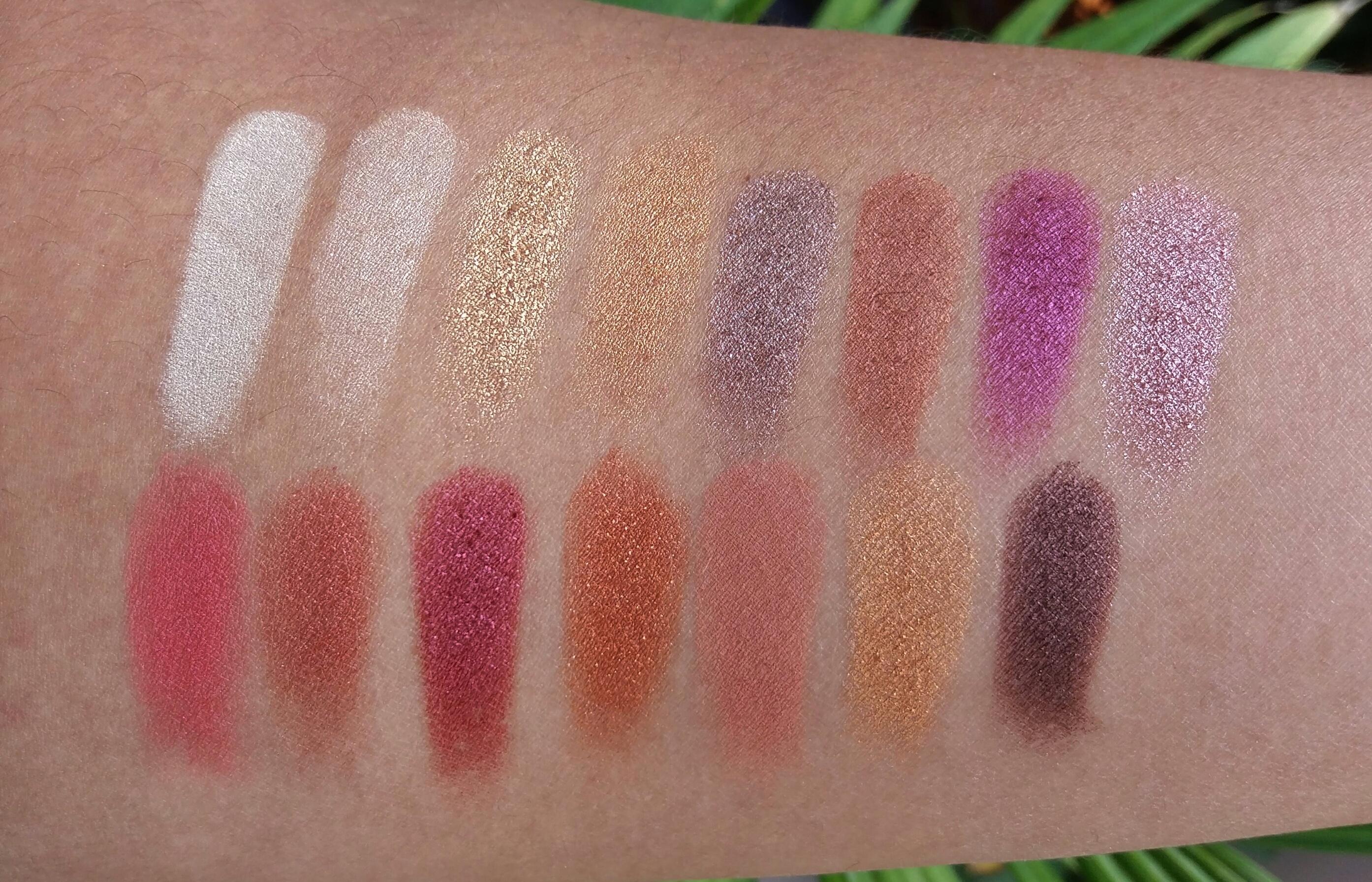 MySign Fire Eyeshadow palette 7