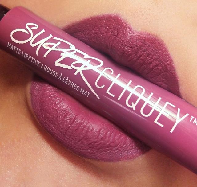 NYX Super Cliquey Matte Lipsticks 2