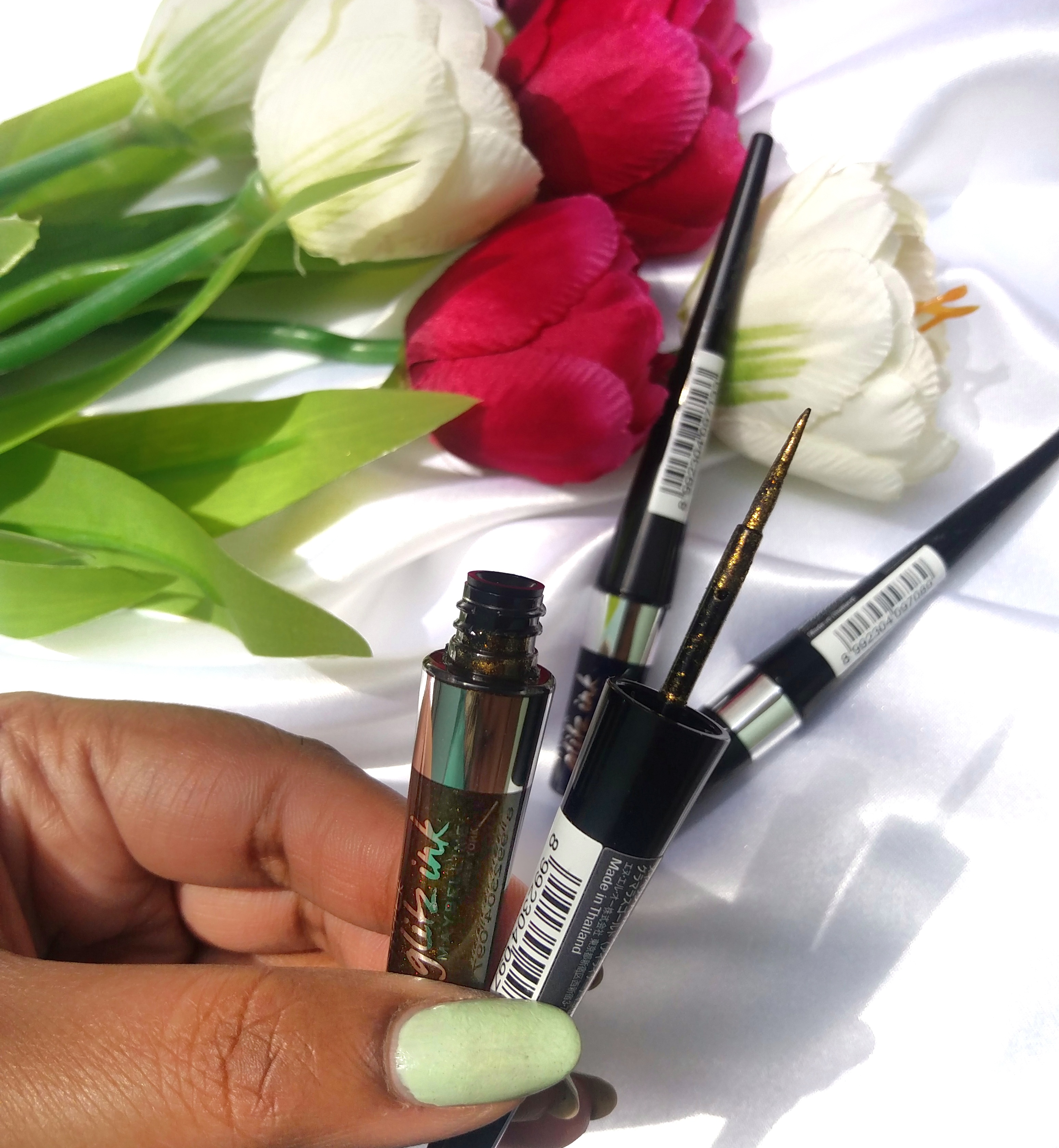 Maybelline Hyper Glitz Ink Eyeliners Review Mission Be You Tiful Eye Liner Black