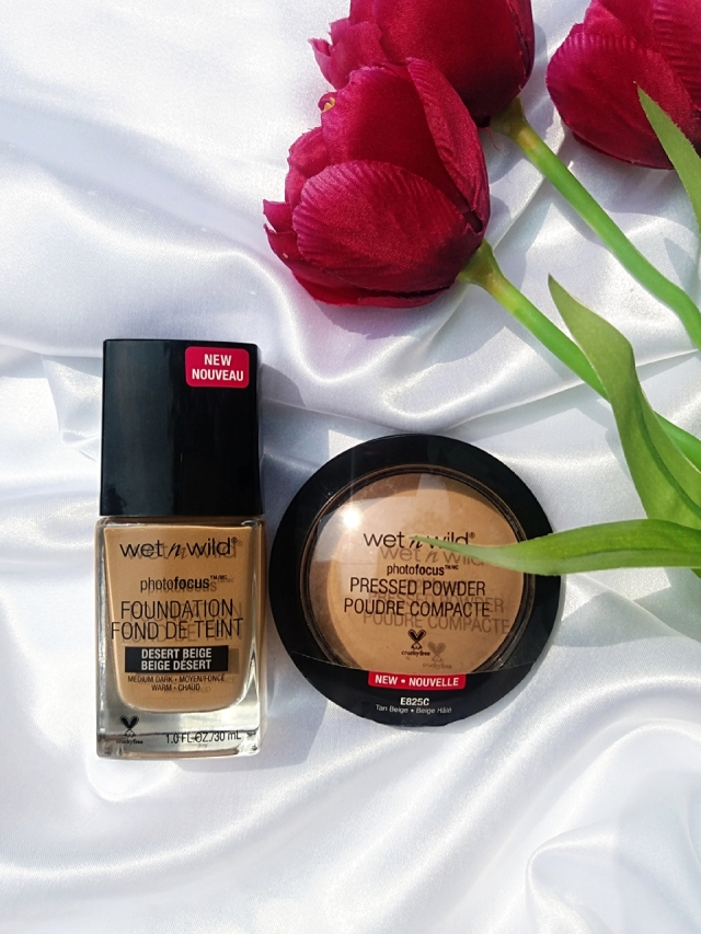 Wet n Wild Photo Focus Foundation & Pressed Powder.jpg