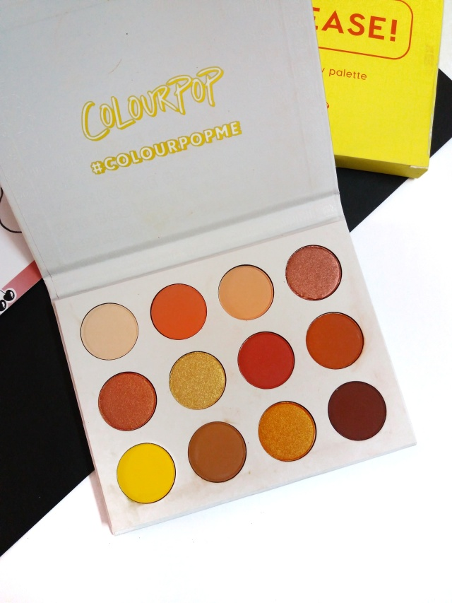 Colourpop Yes Please palette review 2