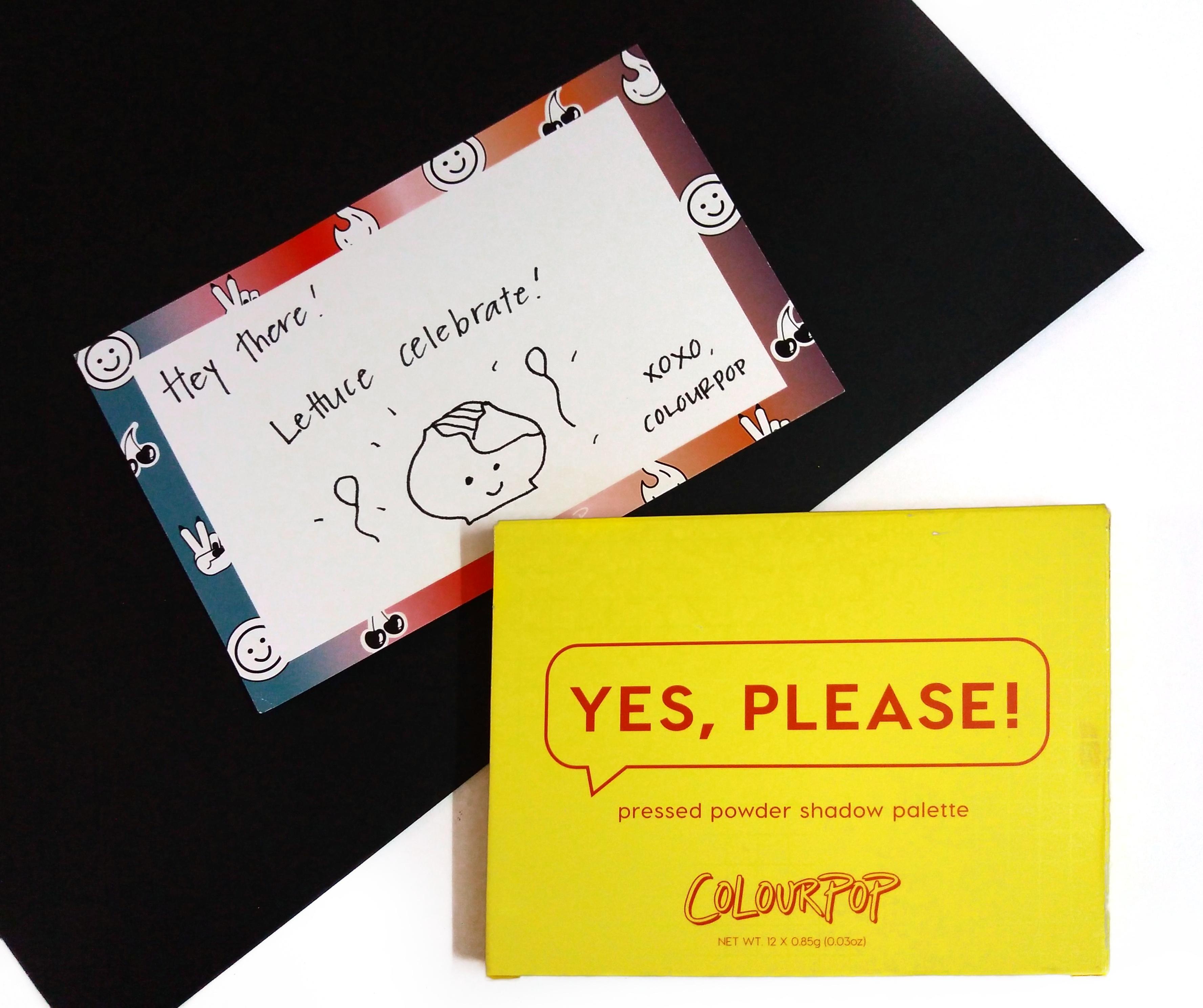 Colourpop Yes Please palette review.jpeg