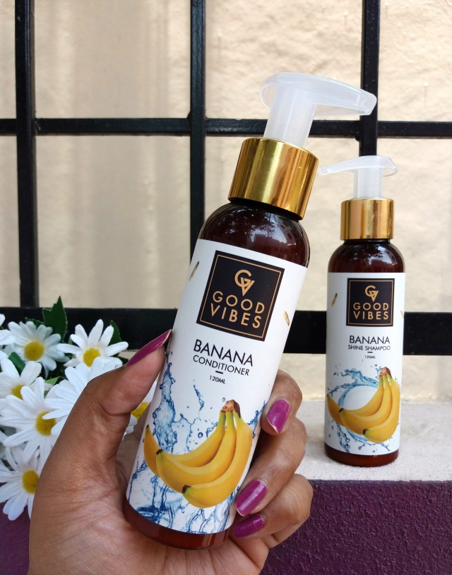 Good Vibes Banana Shampoo Conditioner 4