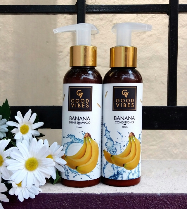 Good Vibes Banana Shampoo Conditioner