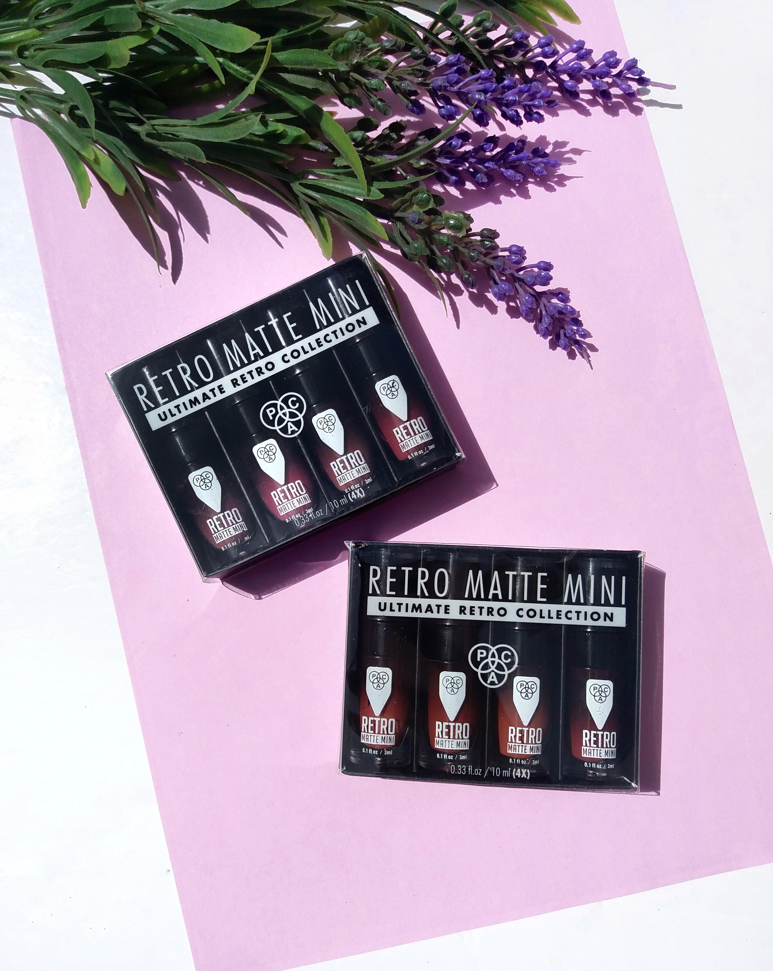 Pac Retro Matte Mini Lip Set