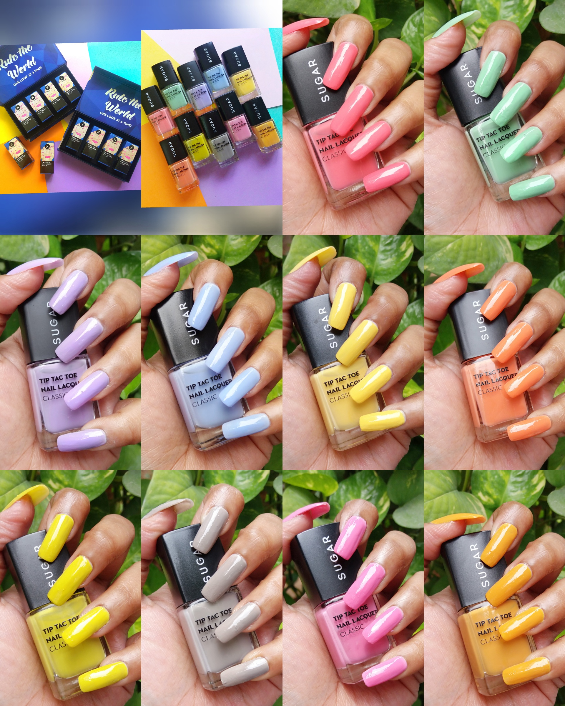 Sugar CandyLand Collection Nail Lacquers