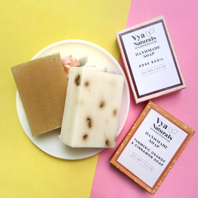 Vya Naturals Handmade Soaps Review 5