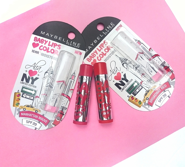 Maybelline Alia Loves New York Baby Lips 2