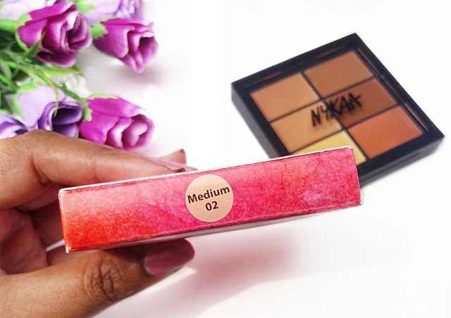 Nykaa Conceal & Correct Palette Review 1