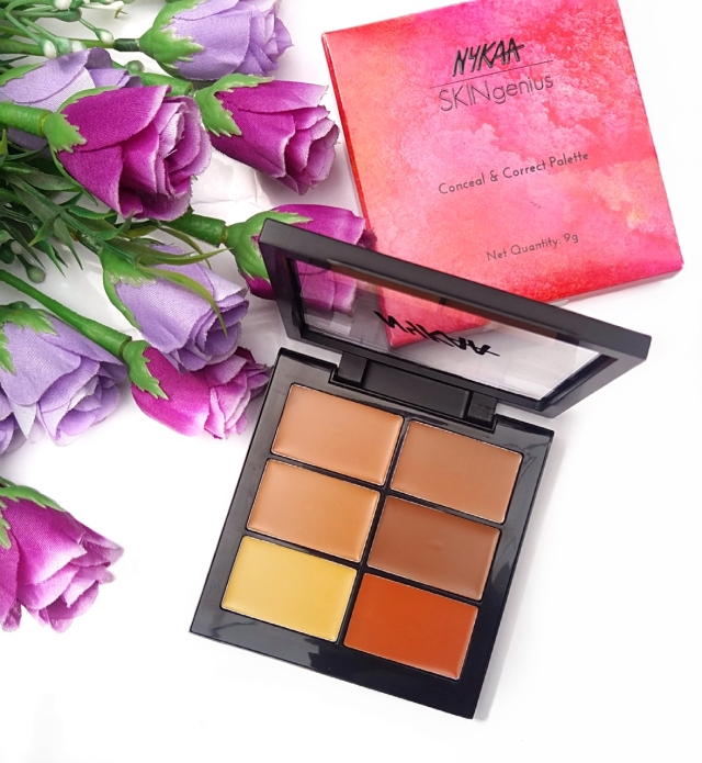 Nykaa Conceal & Correct Palette Review 3