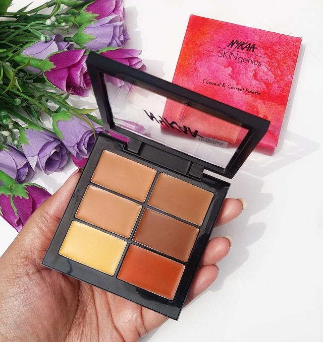 Nykaa Conceal & Correct Palette Review 4