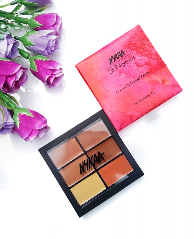 Nykaa Conceal & Correct Palette Review