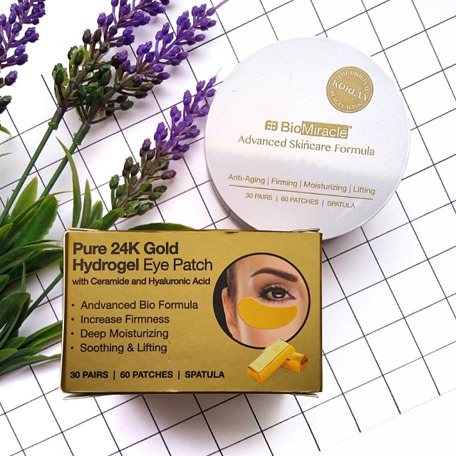 BioMiracle Pure 24K Gold Hydrogel eye patches 1