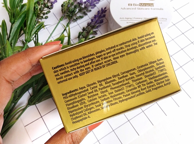 BioMiracle Pure 24K Gold Hydrogel eye patches 2