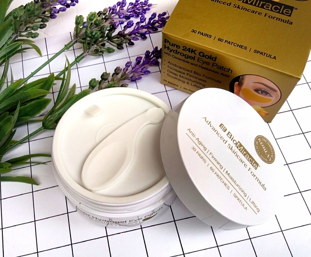 BioMiracle Pure 24K Gold Hydrogel eye patches 3