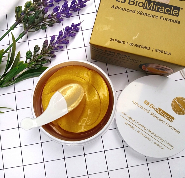 BioMiracle Pure 24K Gold Hydrogel eye patches 4