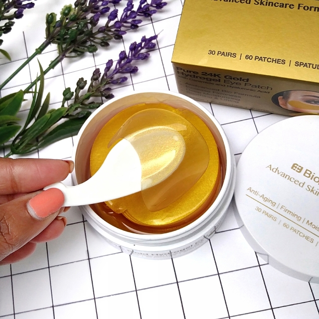 BioMiracle Pure 24K Gold Hydrogel eye patches 7