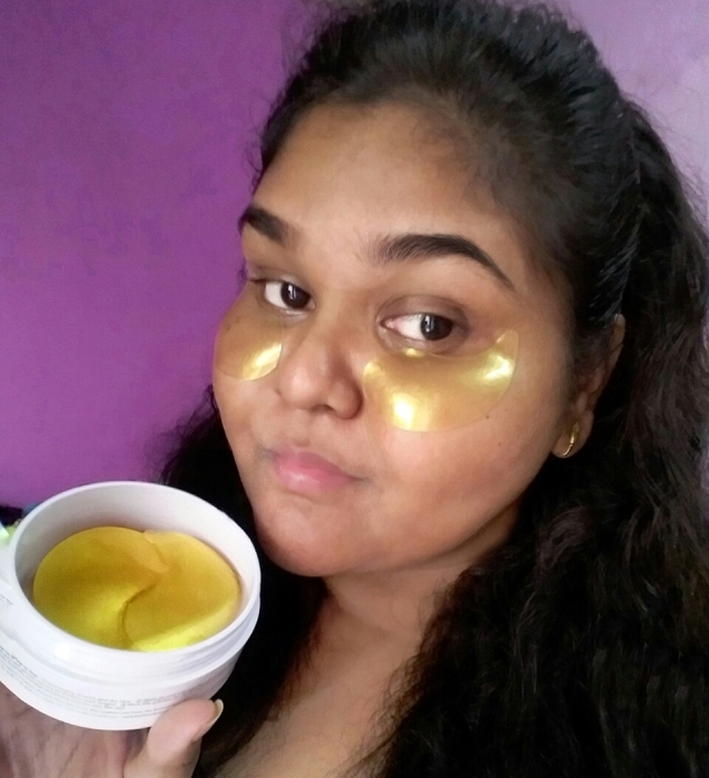 BioMiracle Pure 24K Gold Hydrogel eye patches 8