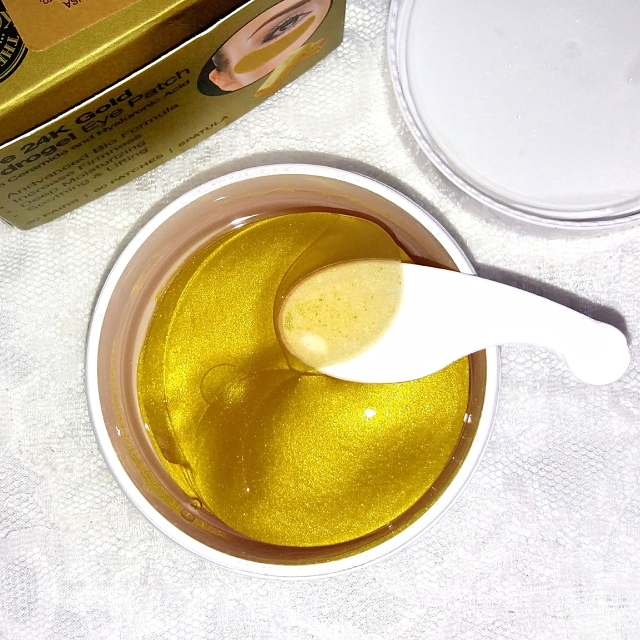 BioMiracle Pure 24K Gold Hydrogel eye patches 9