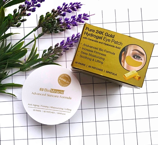 BioMiracle Pure 24K Gold Hydrogel eye patches