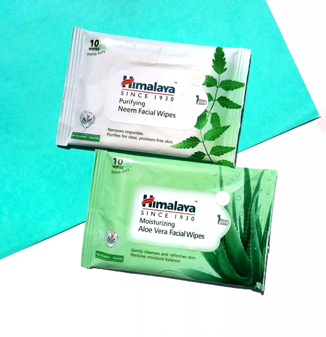 Himalaya Facial Wipes Review