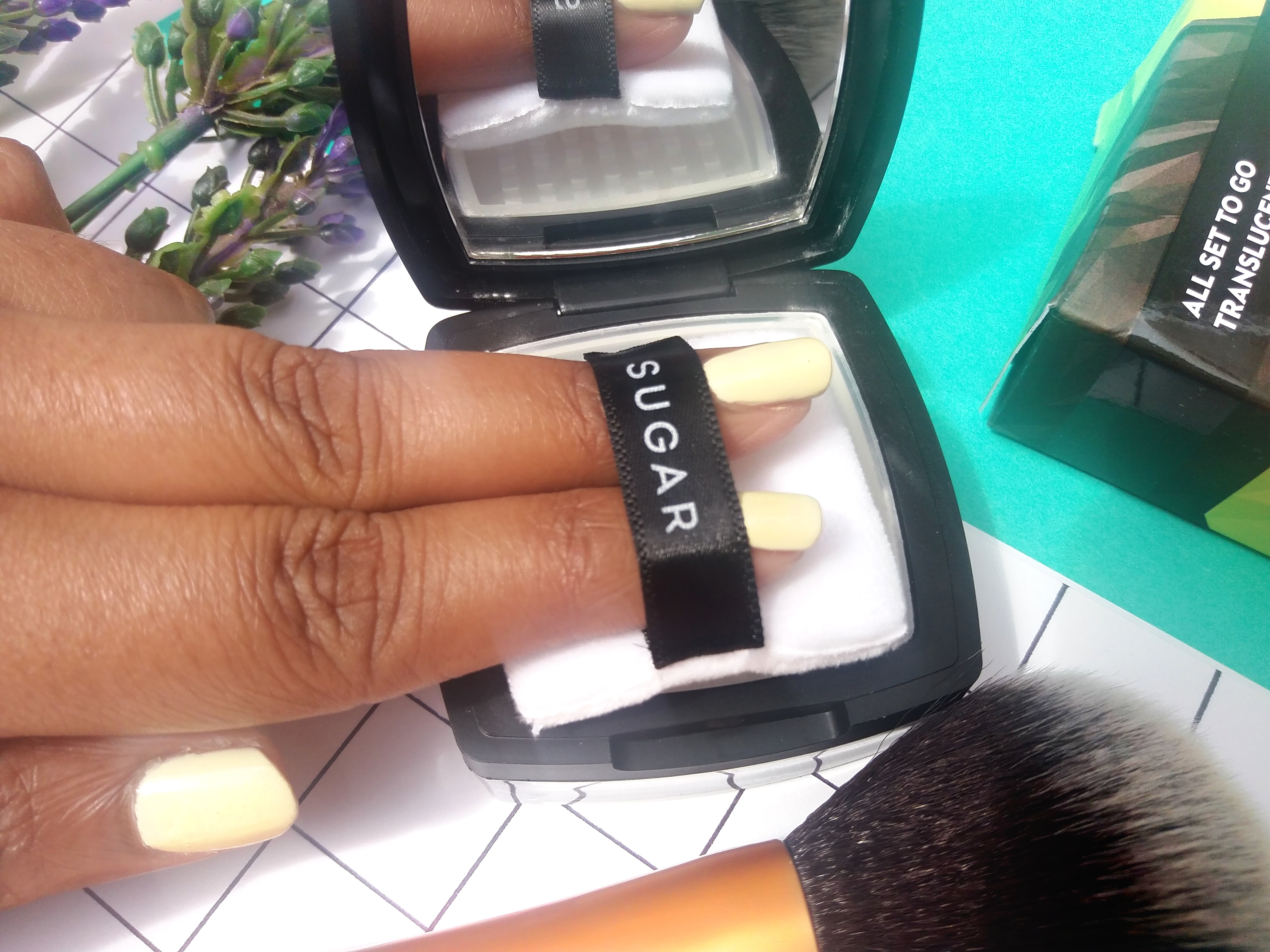 Sugar All Set To Go Translucent Powder Review 6