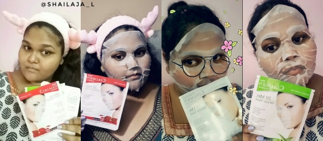 BioMiracle Collagen Essence Sheet Masks Review 7