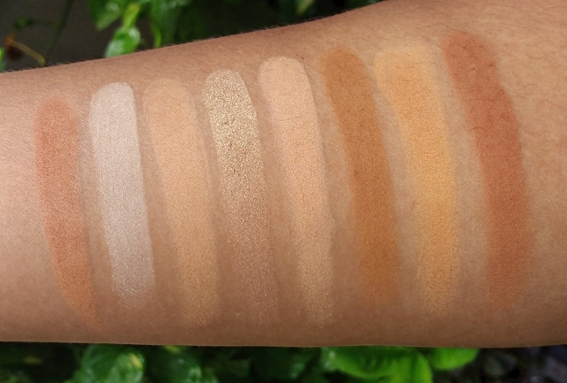 L.A.COLORS I HEART MAKEUP CONTOUR PALETTE 5