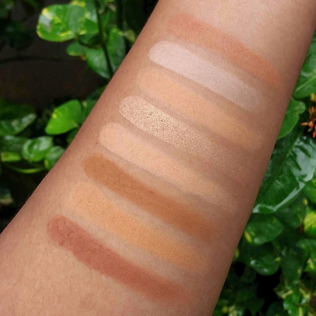 L.A.COLORS I HEART MAKEUP CONTOUR PALETTE 6
