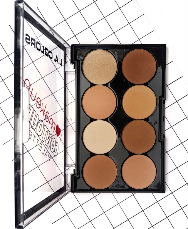 L.A.COLORS I HEART MAKEUP CONTOUR PALETTE
