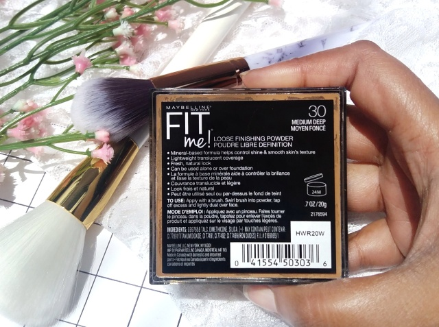 Maybelline Fit Me! Loose Finishing Powder 3